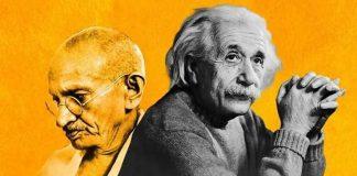 आइंस्टीन के महात्मा गाँधी