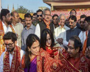 उद्धव ठाकरे ने राम मंदिर के लिए एक करोड़ दिए   samachar-vichar